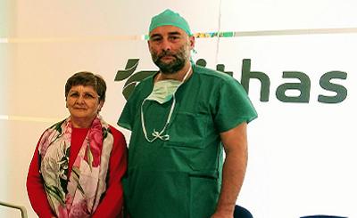 Primer tratamiento de varices con Venaseal ® en Vithas Galicia